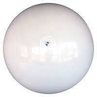 6-FT Deflated Solid White P7 Beach Balls
