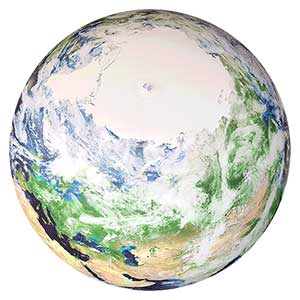 6-FT Diameter Astro Earth Beach Ball
