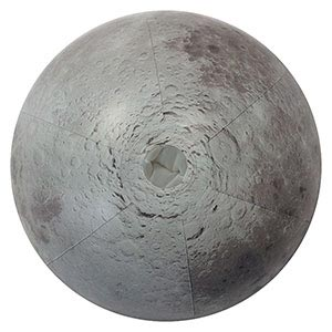 12'' Moon Beach Ball