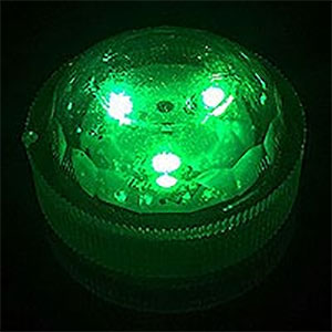 Triple LED Green Submersible Lights