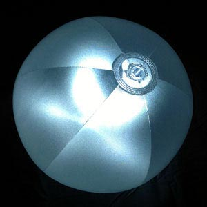 16'' Crystal Glow LED Beach Balls