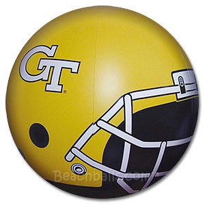 Georgia Tech Beach Ball
