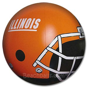 University of Illinois Beach Ball