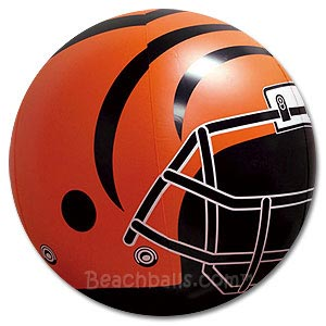 Cincinnati Bengals Beach Ball
