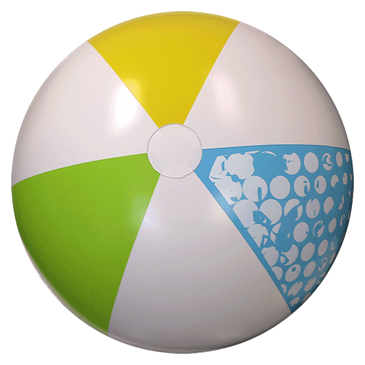 Beach Balls from Small to Giants - 46-Inch Summer Classic ...