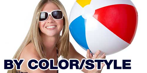 Beach Balls by Color & Style