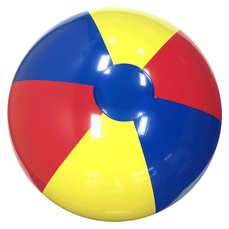 Beach Balls from Small to Giants - 24-Inch Classic Beach Balls