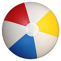 36'' Traditional Matte Beach Balls