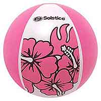 24'' Aloha Tropical Pink Beach Balls