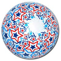 20'' Patriotic Light-Up Beach Balls