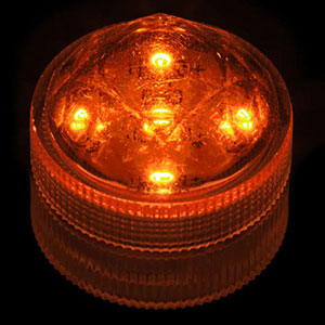 ADD - Ultra-Bright ORANGE 5-LED Light