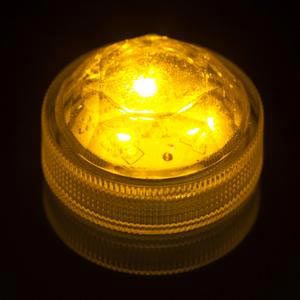 Triple LED AMBER Submersible Lights